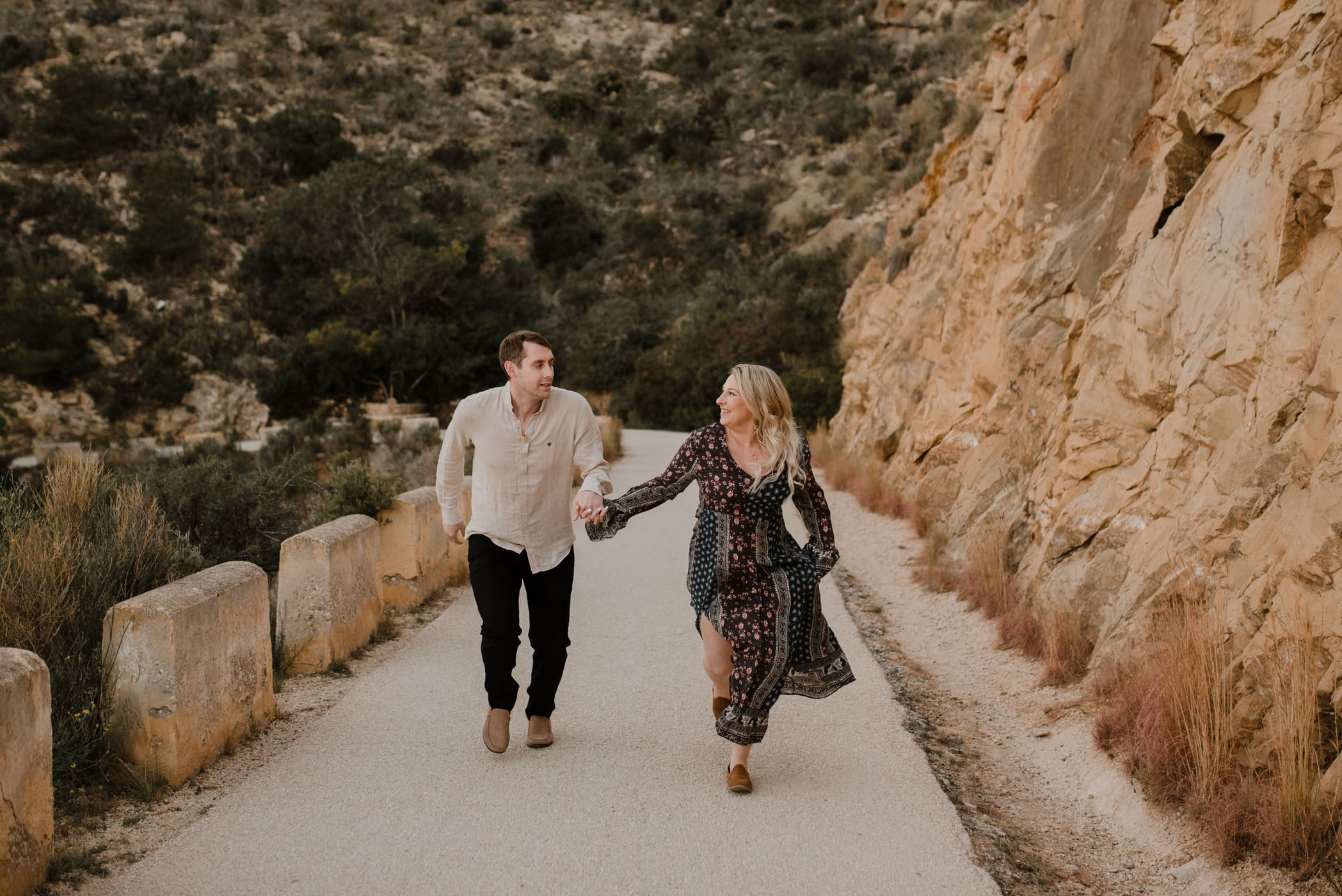 Engagement session in Alicante Spain