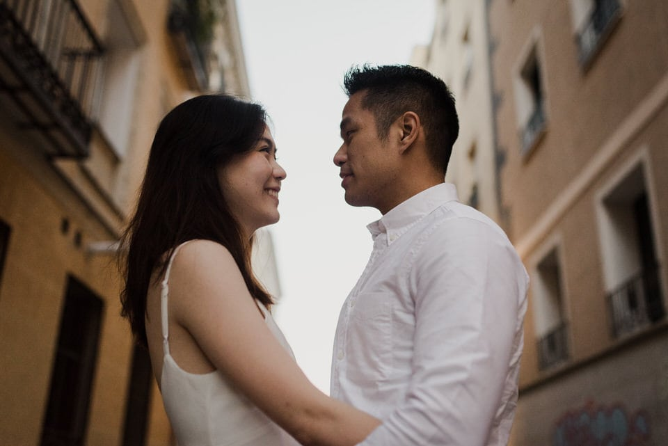 Couple photoshoot in Spain