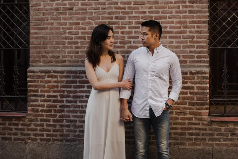 City engagement pictures