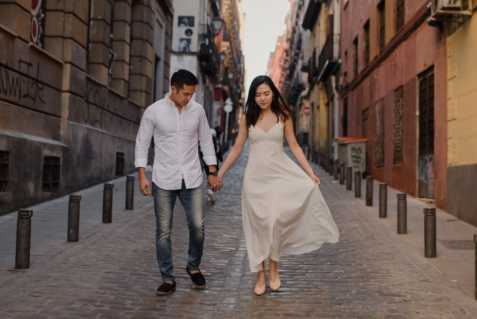 Engagement pictures in Spain