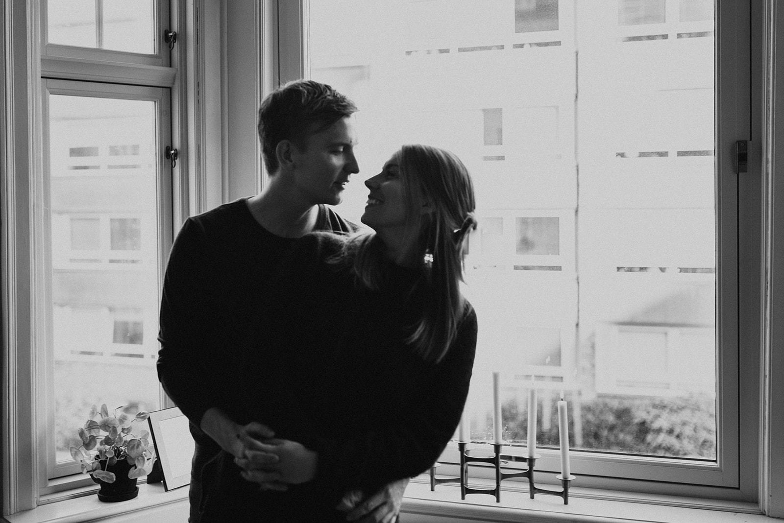 Scandinavian engagement photos