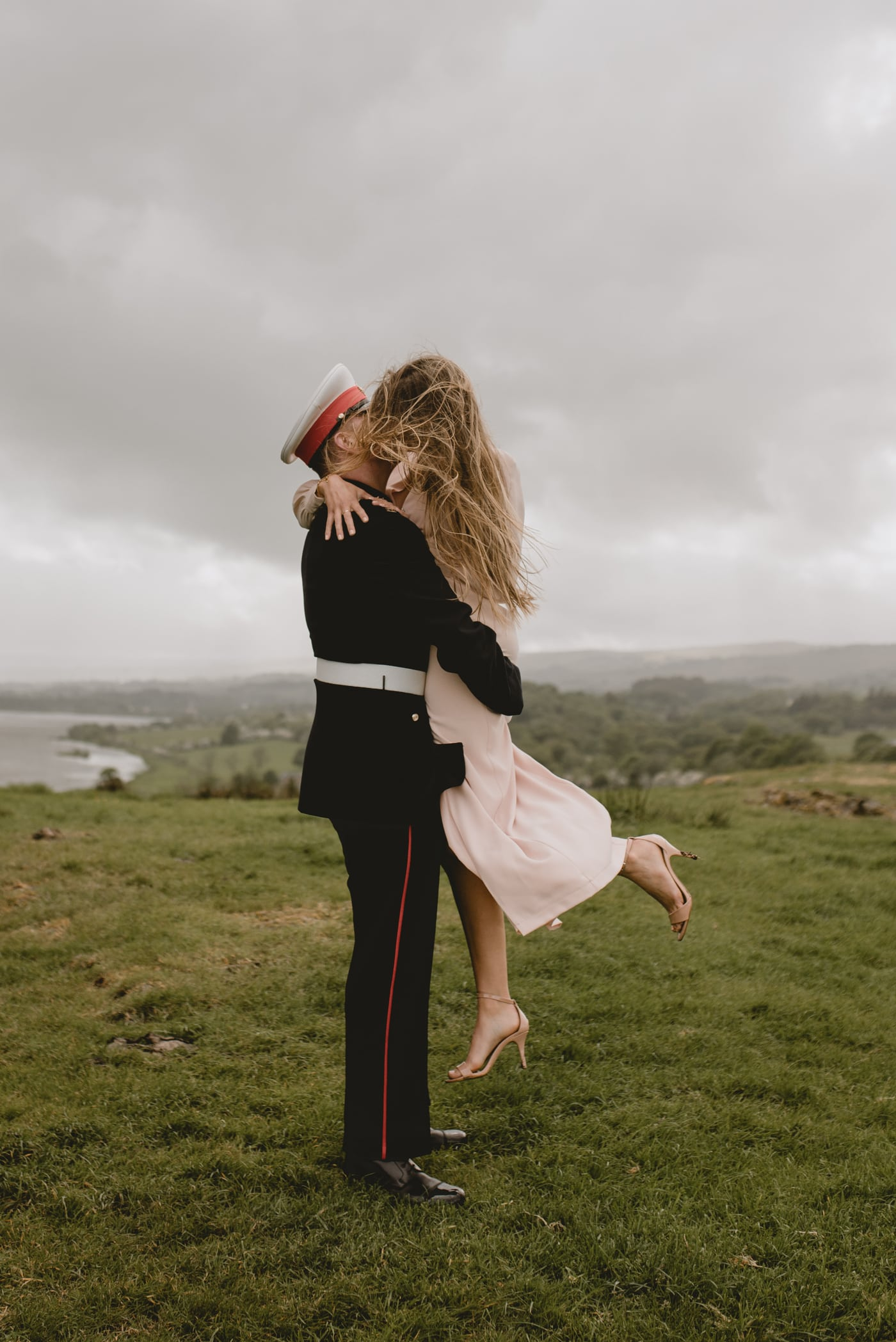 Glasgow engagement photos