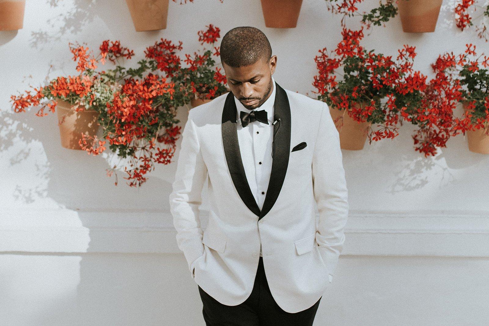A groom at La Bobadilla