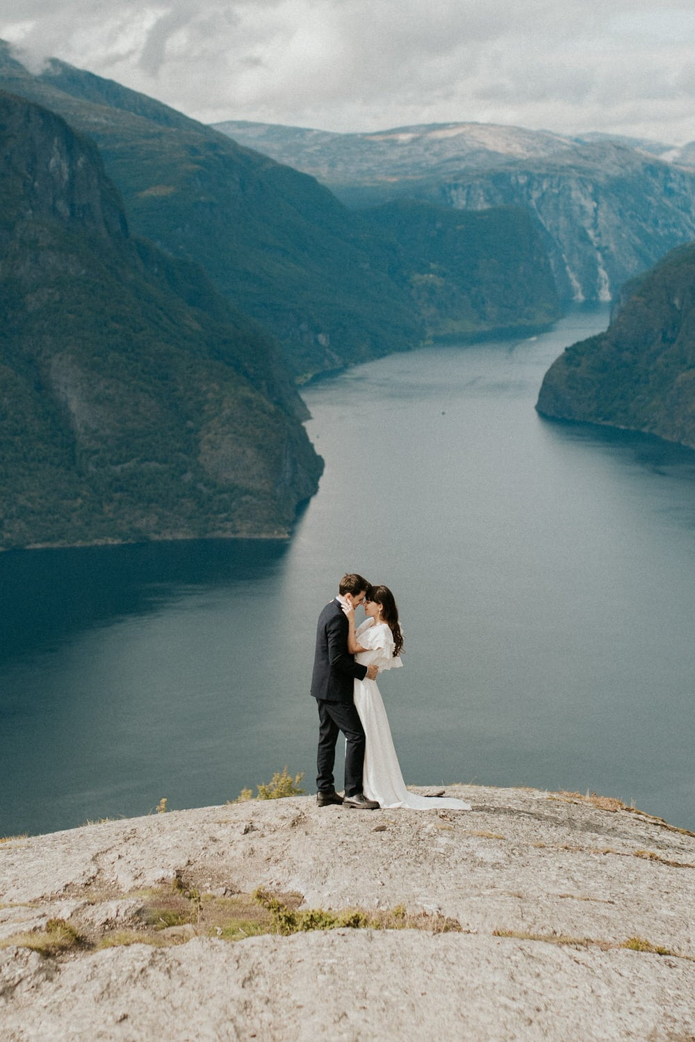 adventurous norway elopement by Emily Kidd Photo European destination wedding photographer