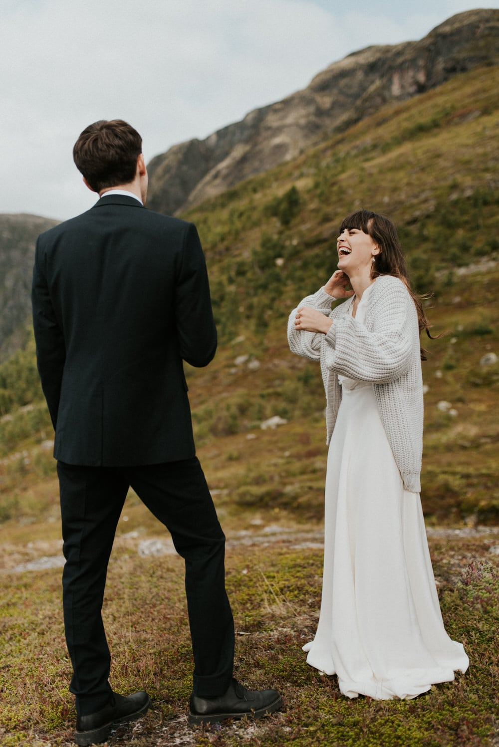 adventure elopement norway wedding photographer