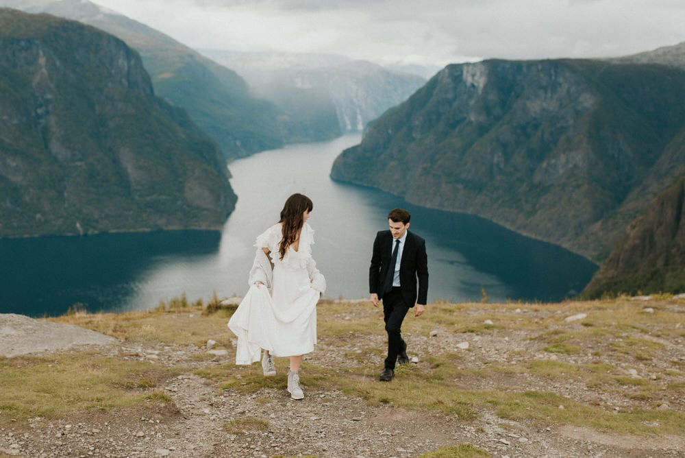 adventurous norway elopement