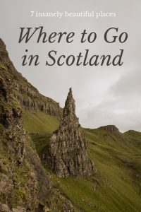 Where to go in scotland