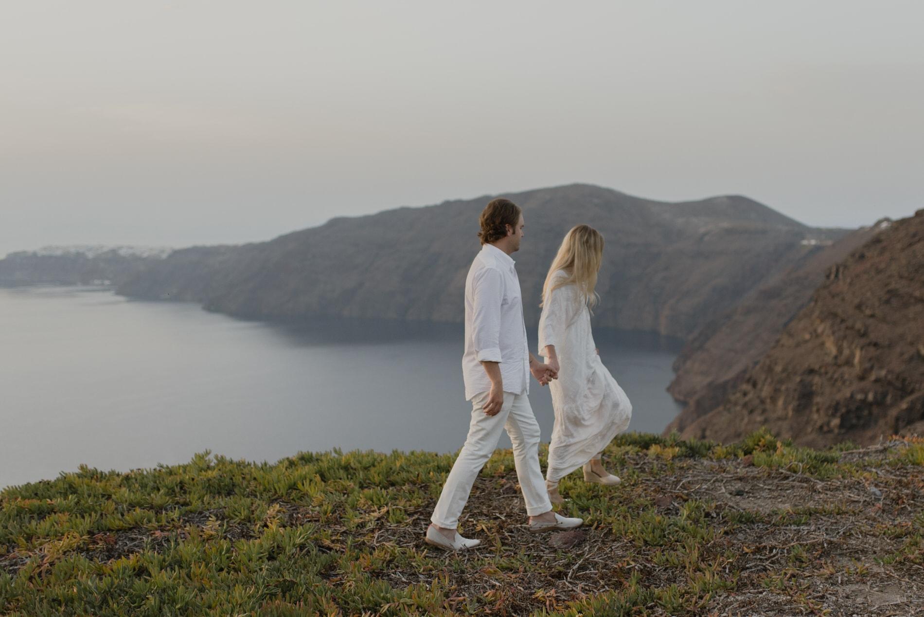 Santorini Elopement Planning