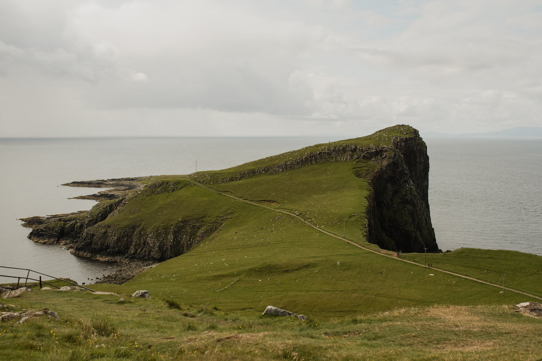 Neist Point Lighthouse in Isle of Skye