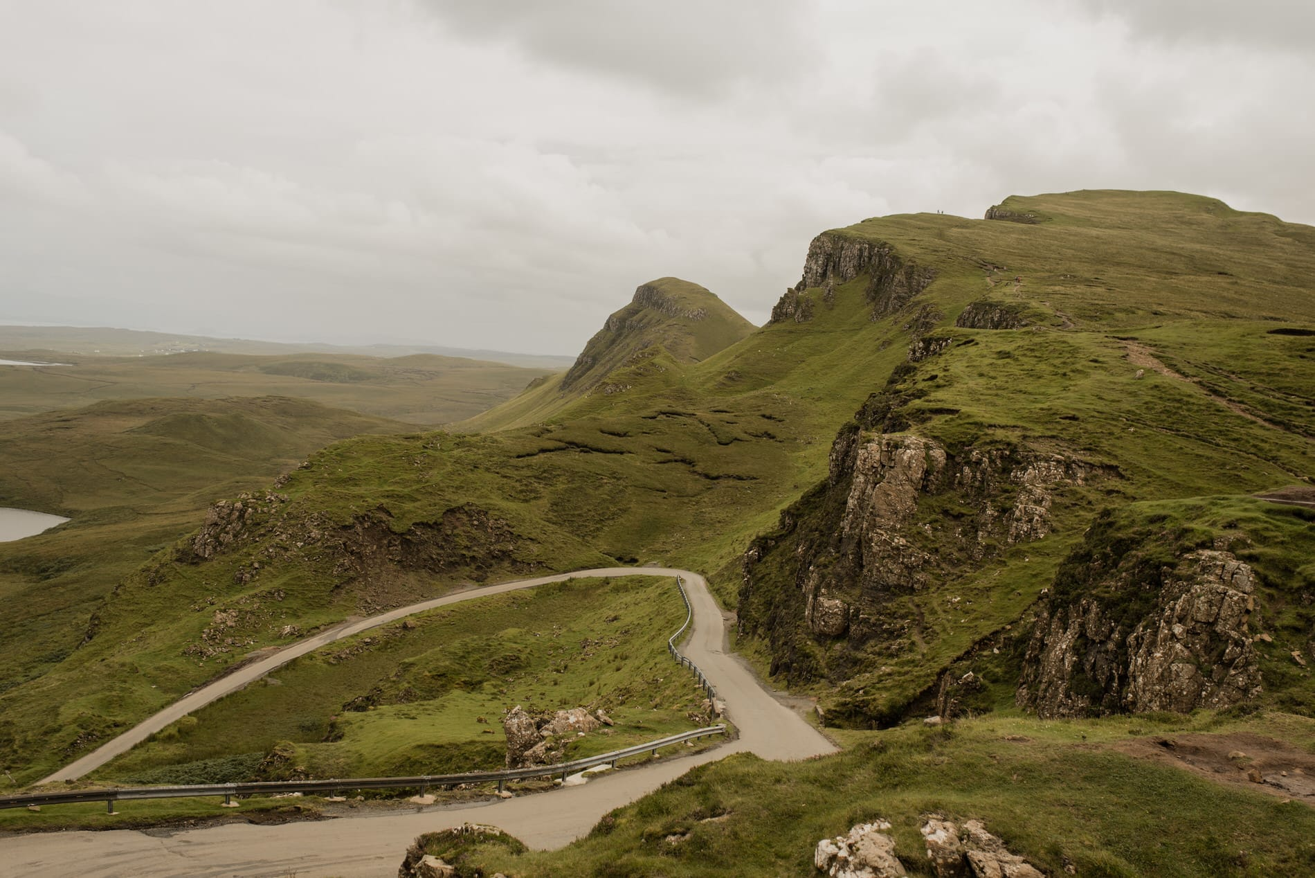 the quiraing in isle of skye scotland
