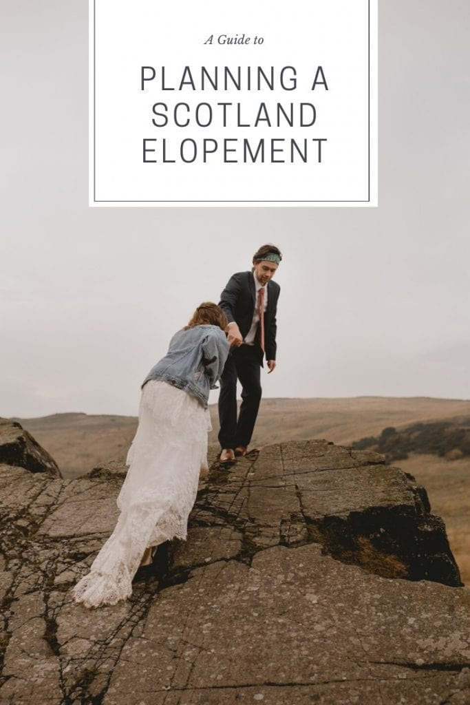 how to plan a scotland elopement