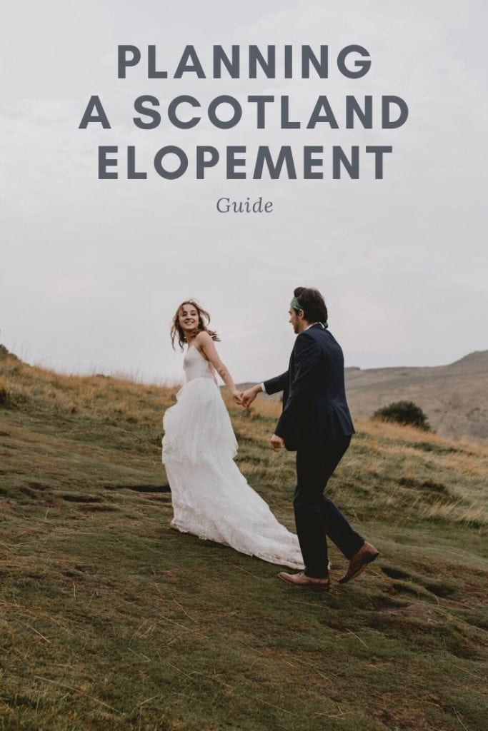 Planning a Scotland Elopement guide