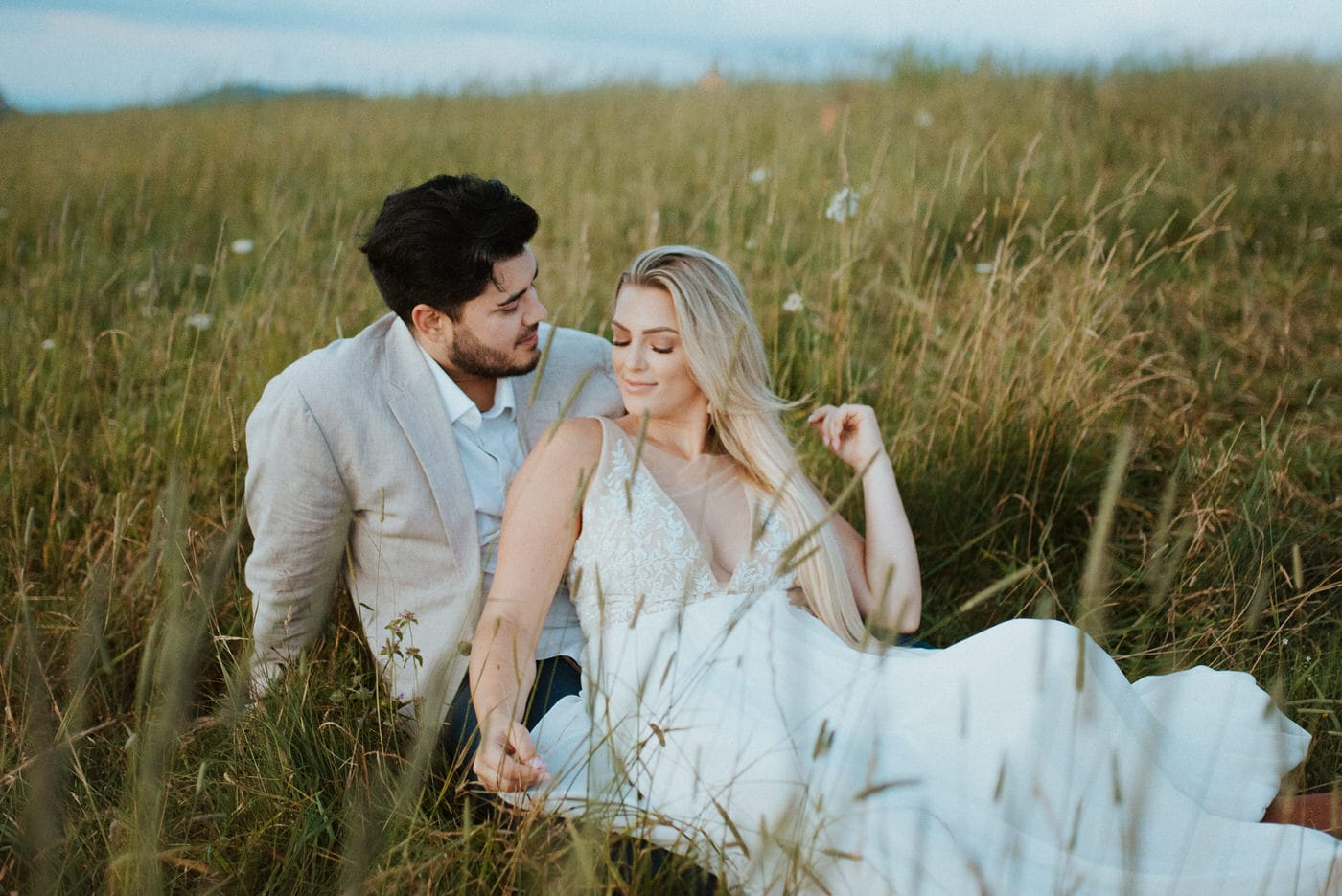 Asheville elopement at Max Patch
