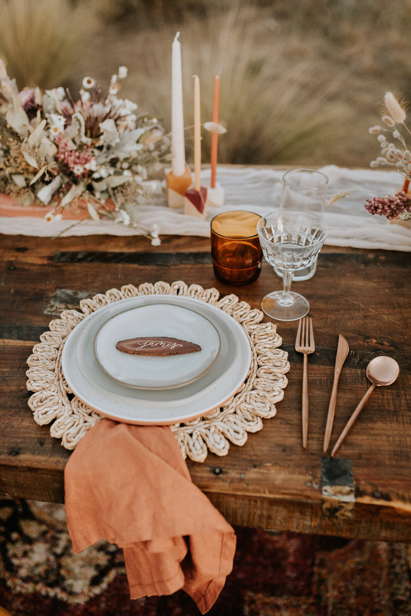 Tulum Mexico Elopement planning details and tablescape