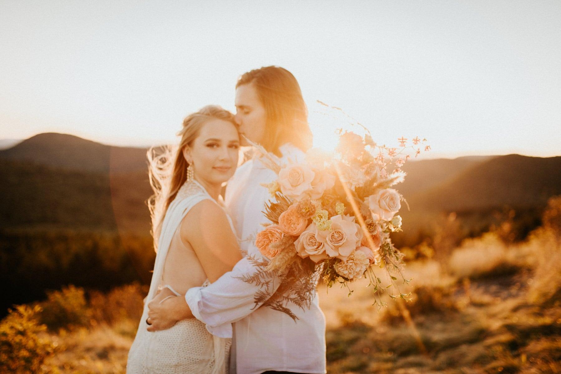 Asheville north carolina elopement