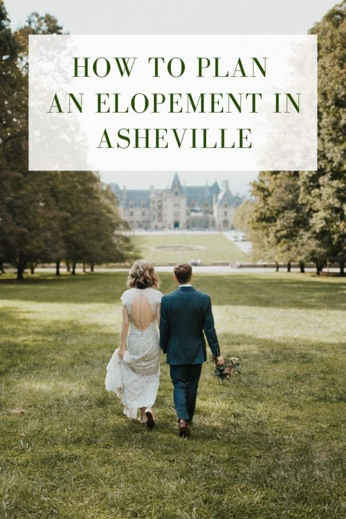 How to plan an elopement in Asheville