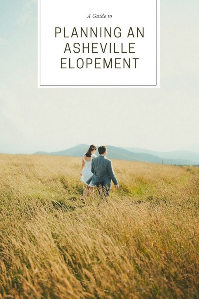 Planning an Asheville Elopement