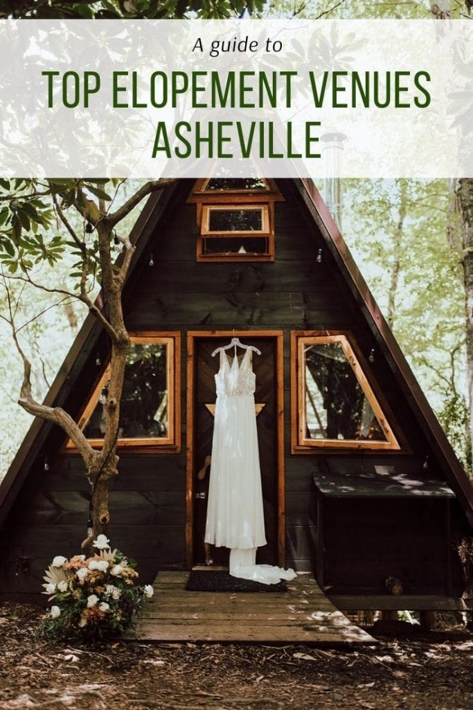Elopement and wedding venues in Asheville North Carolina